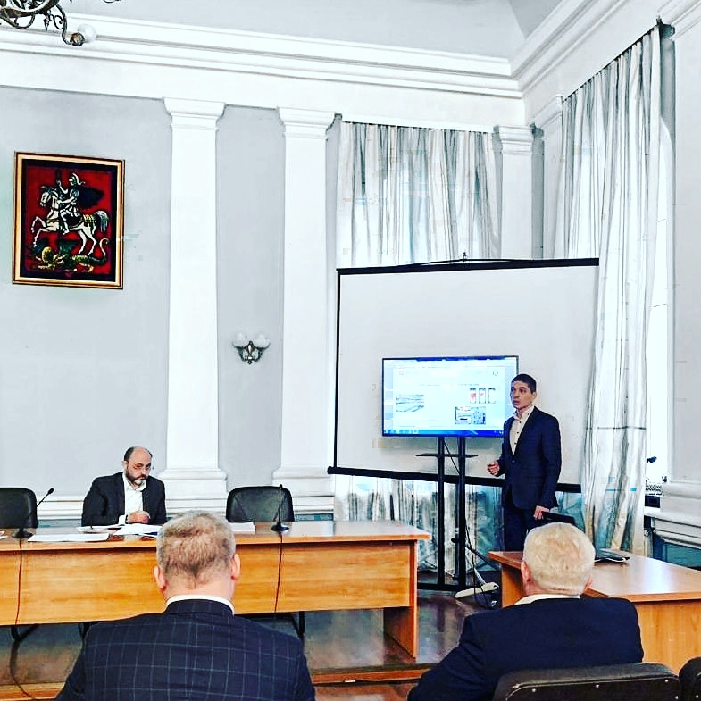 The Mirrico Group presented proprietary solutions for water infrastructure in the Ministry of Housing and Utility Services of Moscow Oblast'
